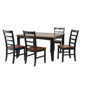 Venizelos 5 Piece Dining Set by Red Barre..