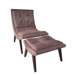 Harcourt Sling Back Chair And Ottoman