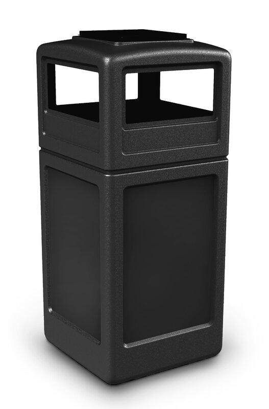 PolyTec 42 Gallon Trash Can