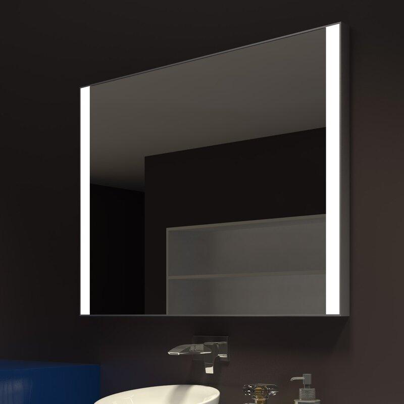 Lighted Vanity Mirror.Kristian Illuminated Bathroom Vanity Mirror