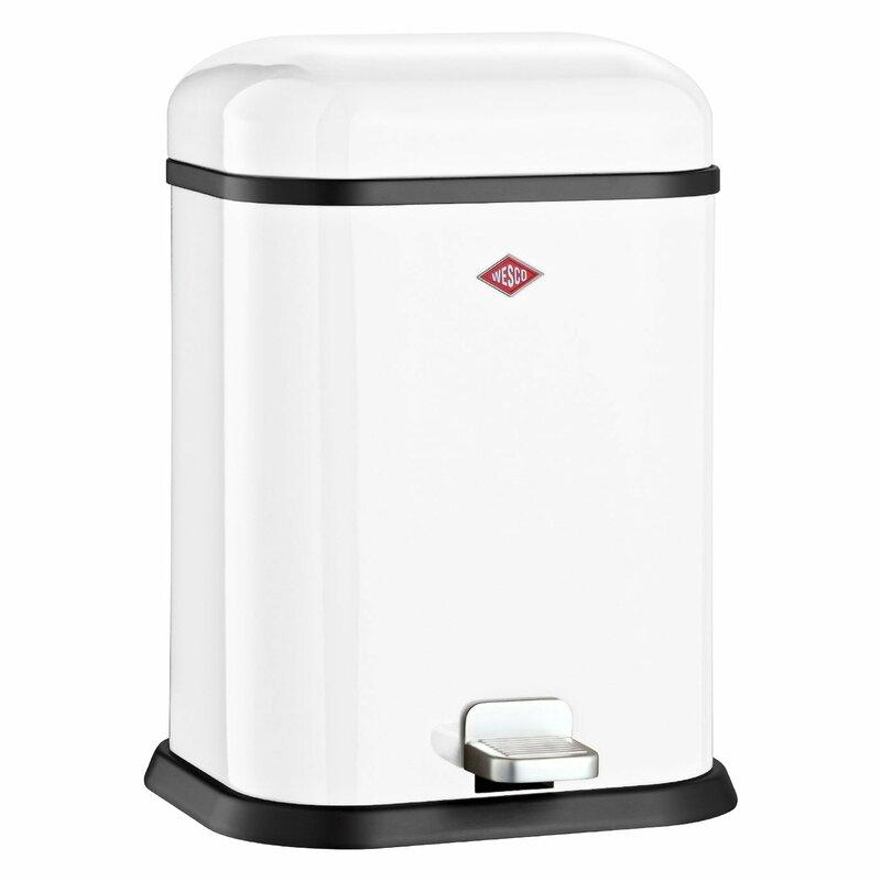 Wesco Singleboy 3 4 Gallon Step On Bathroom Trash Can Reviews