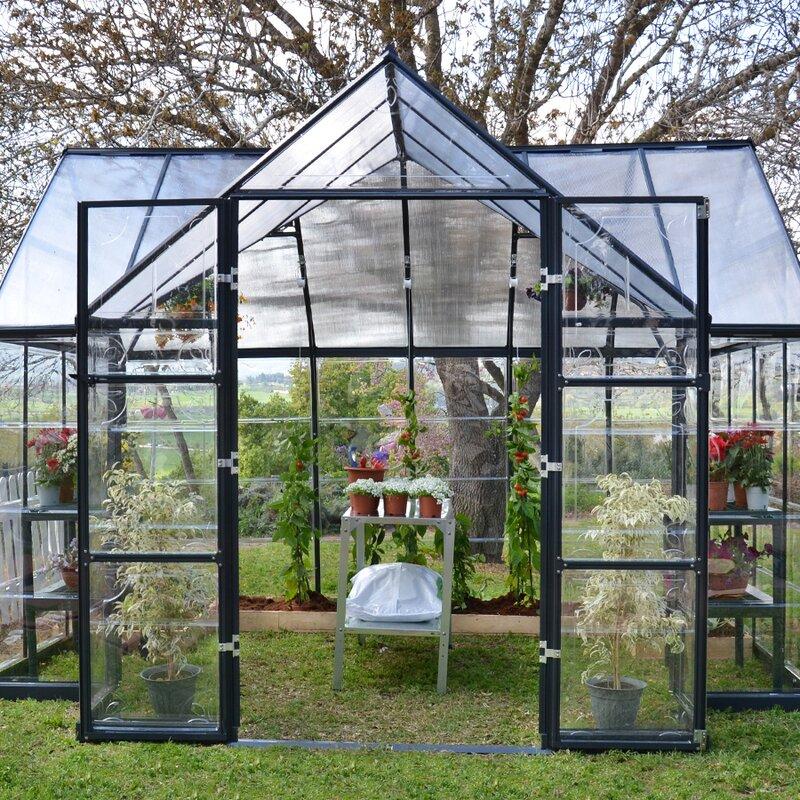 Palram Chalet 12 Ft W X 10 D Greenhouse amp Reviews