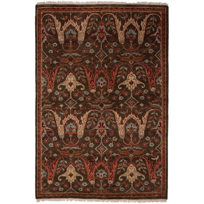 Tucson Hand-Woven Brown Area Rug