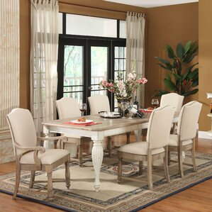 Quevillon Extendable Dining Table by Lark Manor
