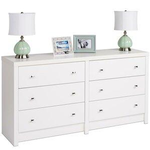 calla 6 drawer dresser