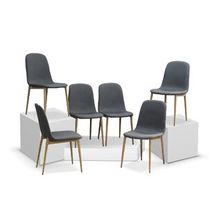 Attrayant Juston Skin Upholstered Dining Chair (Set Of 6)