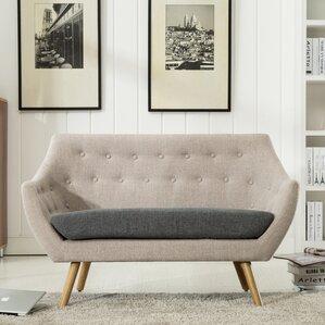 Westford  Dual Tone Tufted Sofa by George Ol..