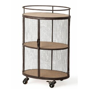 Brooten Edna Rolling Bar Cart
