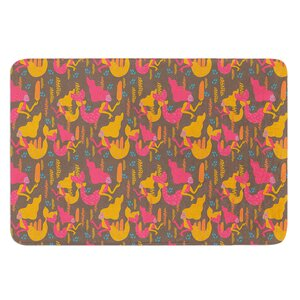 Mermaids II by Akwaflorell Bath Mat