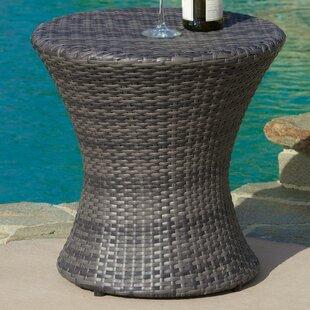 Cast Aluminum Patio Side Table Wayfair