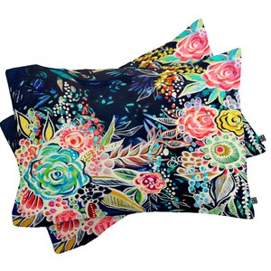 Night Bloomers Pillowcase (Set of 2)