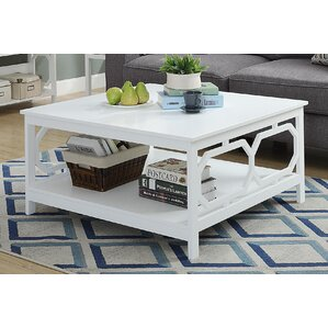 Country Walk Square Coffee Table by Beachcrest Home