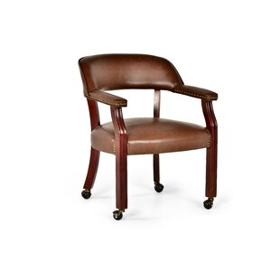 casters on with furniture wayfair chair arm dining kitchen chairs mcbride