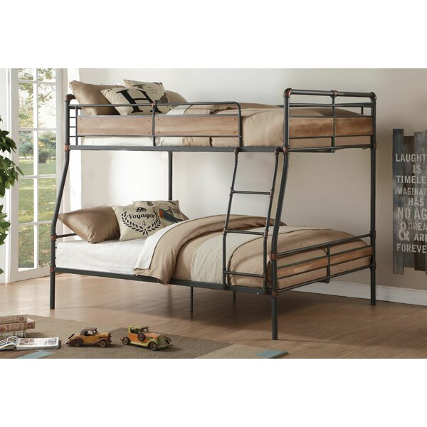Harriet Bee Eloy Full Over Queen Bunk Bed Reviews Wayfair