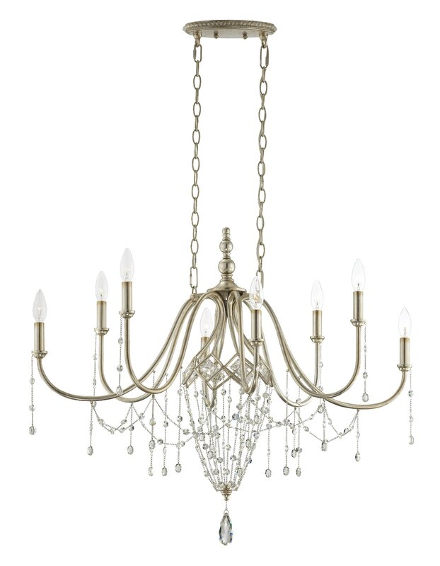 Collana 8-Light Crystal Chandelier