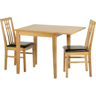 Kyle Folding Dining Set With 2 Chairs