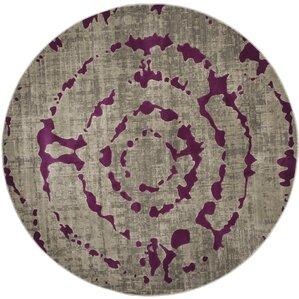 varnai light graypurple area rug