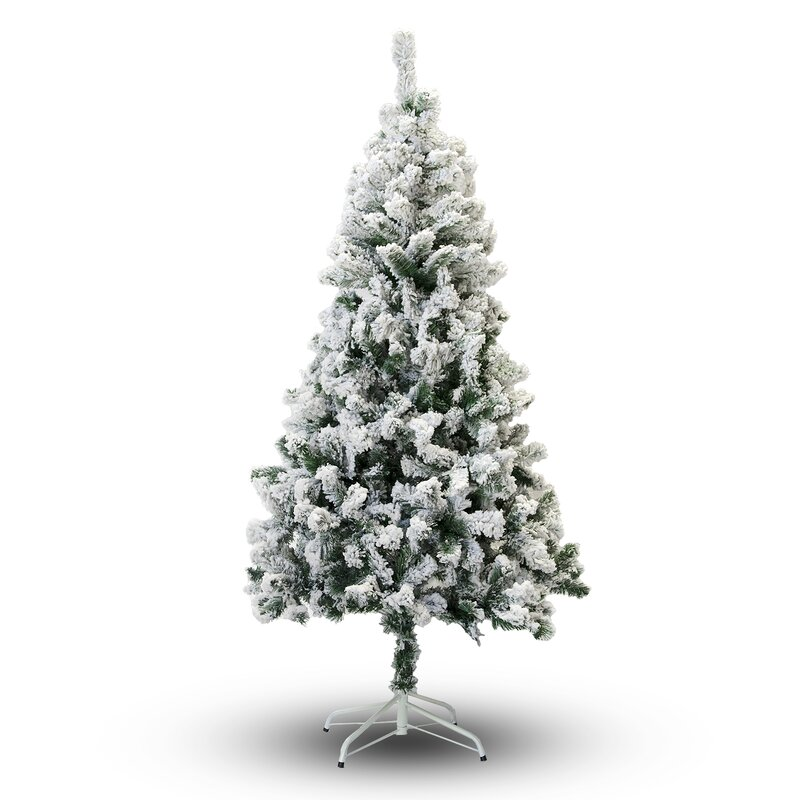 5' Snow Flocked Artificial Christmas Tree & Reviews | Joss & Main