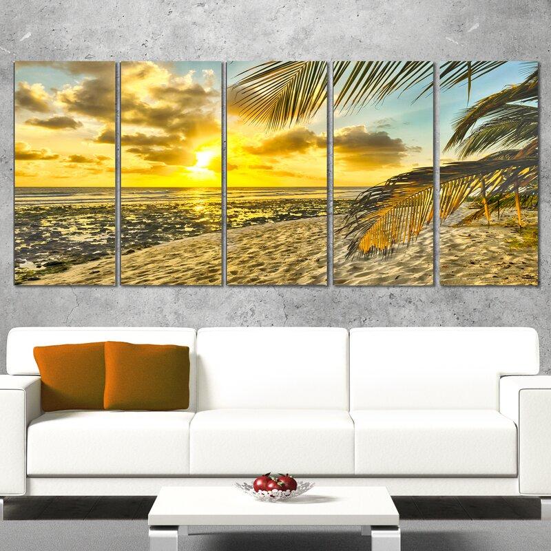 Fancy Beach Wall Art Ornament - Art & Wall Decor - hecatalog.info