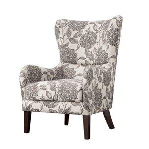 Grangeville Swoop Wingback Chair