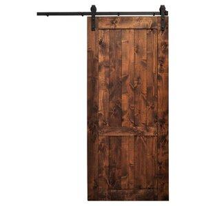 Hoboken Wood 1 Panel Interior Barn Door