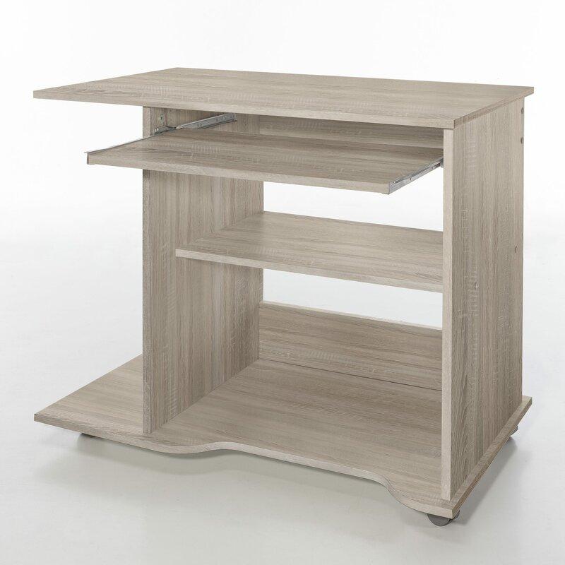symple stuff computertisch mit tastaturauszug bewertungen. Black Bedroom Furniture Sets. Home Design Ideas