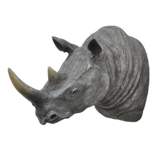 Bloomsbury Market Rhino Wall Decor   Wayfair