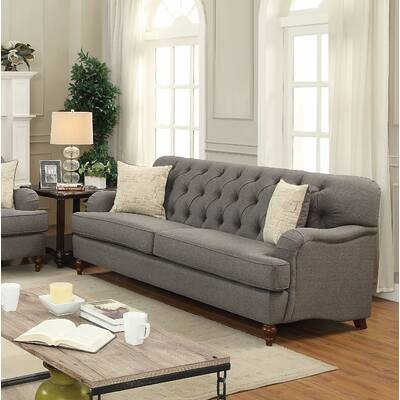 Canora Grey Dalston Tufted Sofa Wayfair