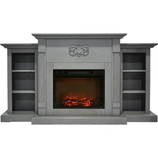 2 Sided Electric Fireplace Wayfair