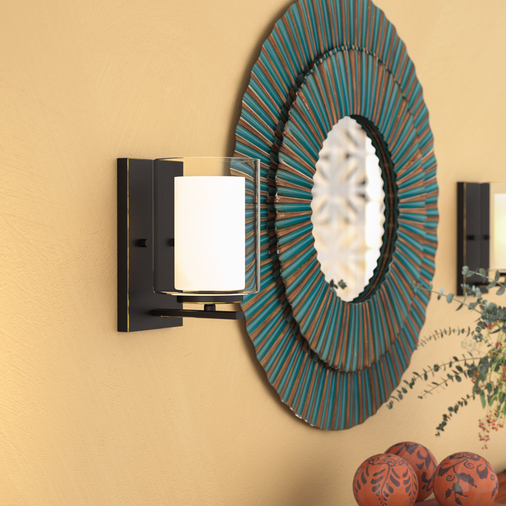 World Menagerie Cheyne 1-Light Wall Sconce & Reviews | Wayfair