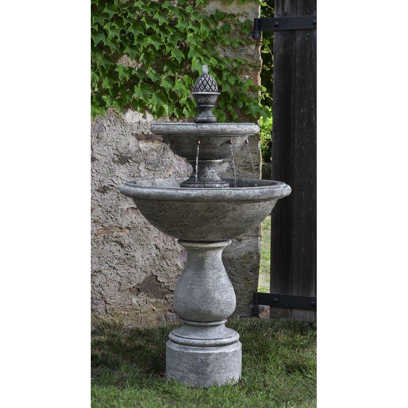 Campania International, IncCharente Concrete Garden Terrace Fountain