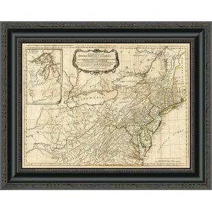 d50f890baed  A General Map of the Middle British Colonies  in America  1776  Framed  Print