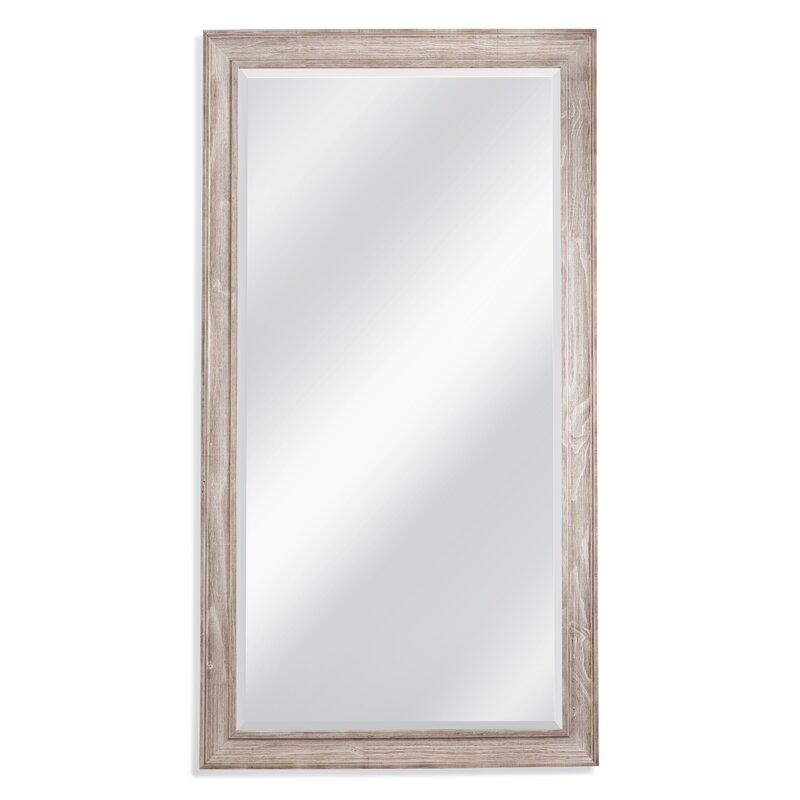 White Wash Leaner Full Length Mirror & Reviews | Joss & Main
