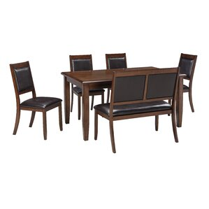 Chavers 6 Piece Dining Set by Andover Mills