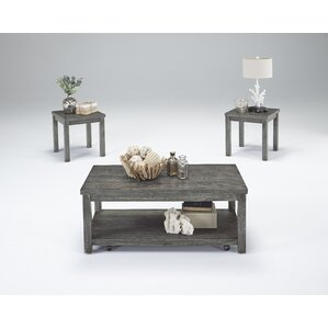 Furniture Coffee Tables grey coffee table sets | wayfair