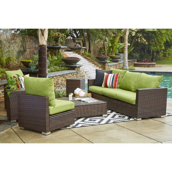 Ellie Outdoor Seating Group With Cushions