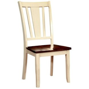 Mooney Transitional Solid Wood Dining Chair (Set of 2)