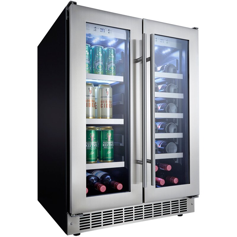 Silhouette 23.8 Inch 4.7 Cu. Ft. Undercounter Beverage Center