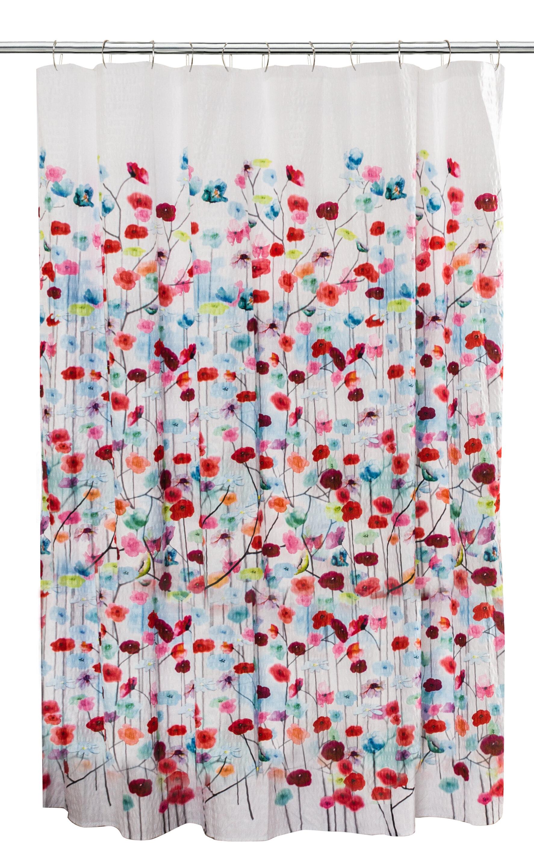 New 70w X 72l Pink Orange Yellow Elephant Design Fabric