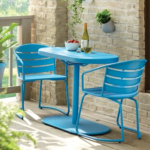 Harlan 3 Piece Bistro Set & Indoor Kitchen Bistro Sets | Wayfair