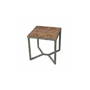 Megha End Table by Gracie Oaks