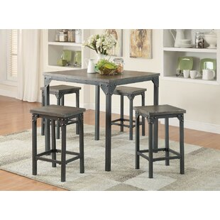 Stackpole 5 Piece Counter Height Dining Set