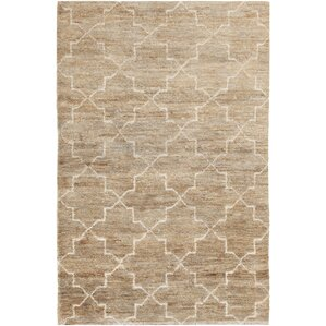 Levine Hand Knotted Natural Area Rug