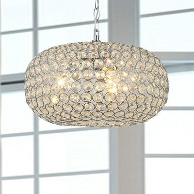 Francisca 3 light crystal chandelier