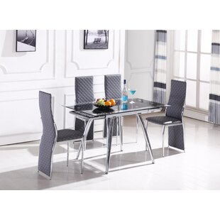 Genial Boothe 5 Piece Dining Set