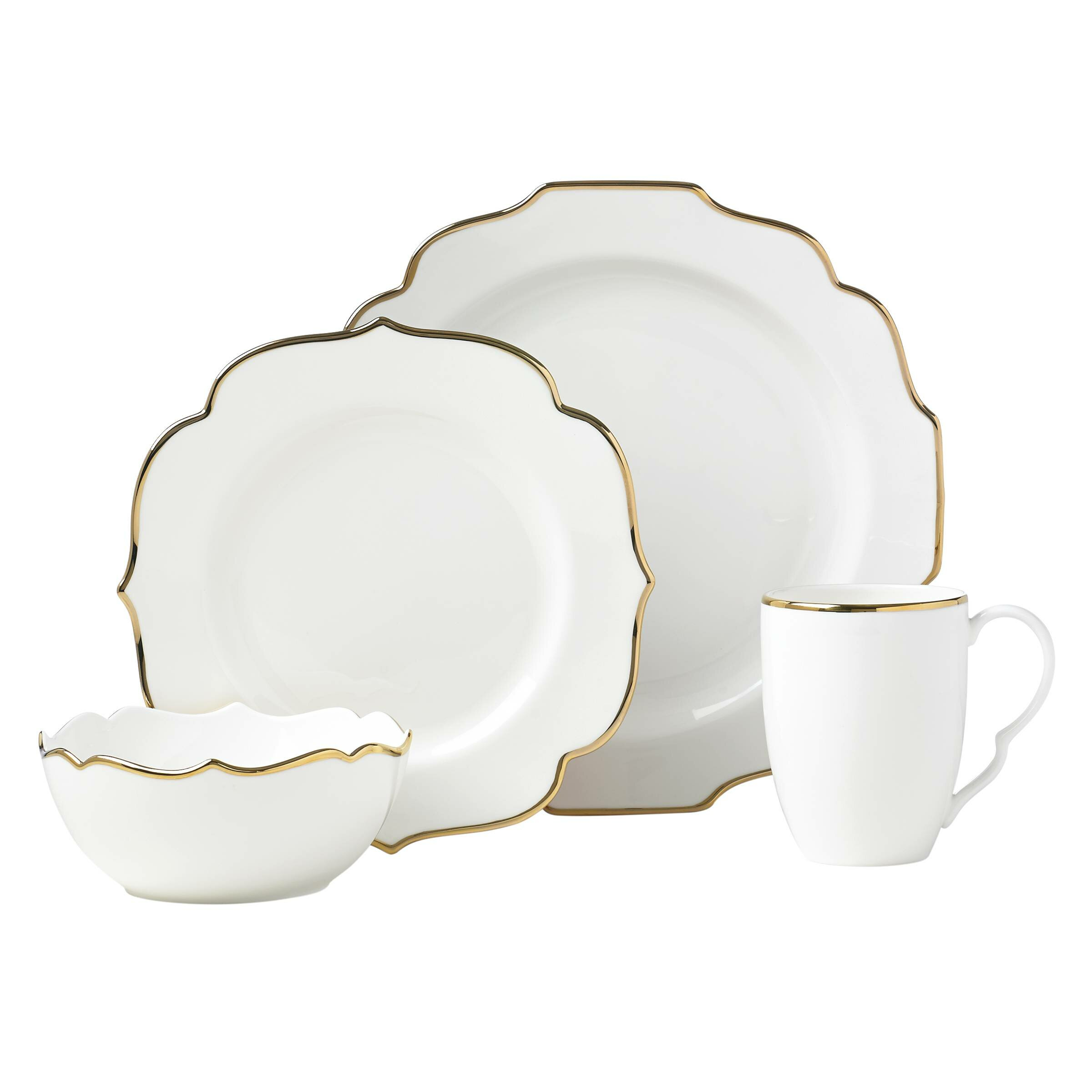 Lenox Contempo Luxe 4 Piece Place Setting, Service for 1 | Wayfair