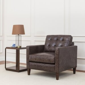 Rockport Leather Club Chair