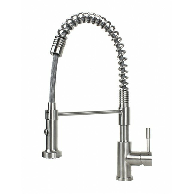 Emodern Decor Tulip Pull Out Single Handle Kitchen Faucet Reviews
