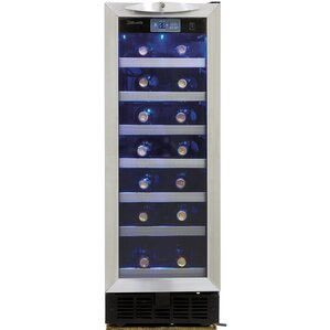 36 Bottle Silhouette Single Zone Built-In Wine Cooler by Danby