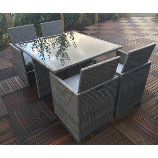 Rattan Cube Set Wayfair Co Uk
